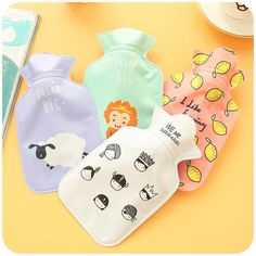 IN STOCK◆$3.04 #WARM #CUTE #SMALL #COLD #WINTER #BOTTLE #WATER #HOT #FEET #POCKET