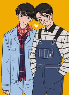 Jin and Jungkook Jinkook