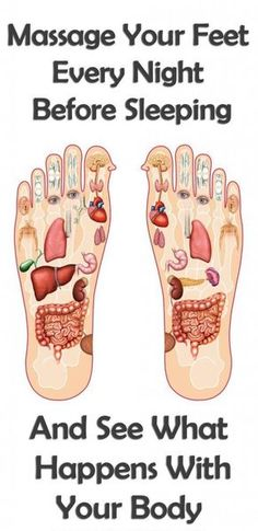 Massaging your feet before going to sleep is critical for your health | The MIRACLE starts here!