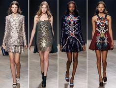 Mary Katrantzou Fall/Winter 2014-2015 Collection - London Fashion Week  #LFW #LondonFashionWeek #fashionweek