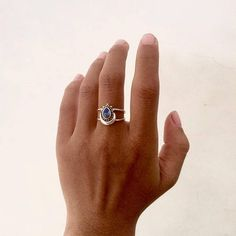 Bali Silver Rainbow Moonstone Ring Bali Silver Summer Ring