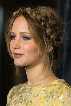 Clasificación de los peinados de Jennifer Lawrence en el 2013