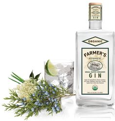 Farmers organic gin (my second favorite after Hendricks)