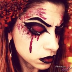 Halloween makeup  By LisaBMakeupArtistry