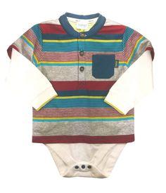 3b9ea1fc03d7 Ted Baker Baby Boys Romper Bodysuit Blue Brown Striped DESIGNER Newborn 0-3  M for sale online