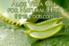 Aloe Vera Gel for Natural Hair | thirstyroots.com: Black Hairstyles and Hair Care
