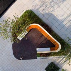Xi'an Qingyue demonstration area by Waterlily studio « Landscape Architecture. - Xi'an Qingyue demonstration area by Waterlily studio « Landscape Architecture Works Landscape Model, Landscape Architecture Design, Landscape Plans, Urban Landscape, Landscape Rake, Chinese Landscape, Landscape Fabric, Landscape Architects, Lego Architecture
