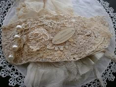 Heirloom cuff! Layers of lace and crochet edges, photo by moananui2000~Beautiful ~❥