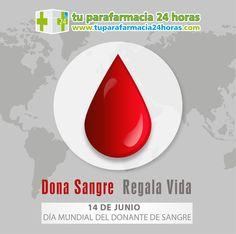 14 DE JUNIO. DÍA MUNDIAL DEL DONANTE DE SANGRE.