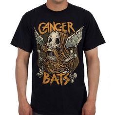 OFFICIAL ~ CANCER BATS Skull Bat T-Shirt