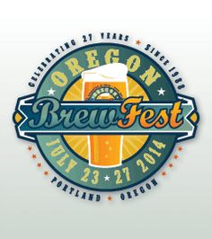 Oregon Brewers Festival, every July, more than 80 different craft brewers from around the country. One of the largest outdoor brewfests in the U.S.