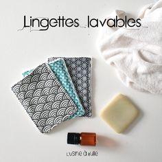 [DIY] Lingettes lavables | L'usine à bulle