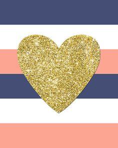 Gold Heart Print Pink Mint Gold Nursery Decor by EllenPrinta.- Gold Heart Print Pink Mint Gold Nursery Decor by EllenPrintable Gold Heart Print Pink Mint Gold Nursery Decor by EllenPrintable -