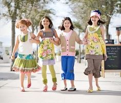 Matilda Jane clothing line- I really need to brush up on my sewing skills (or find a retailer nearby:)