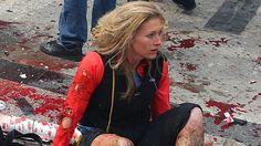 Erika Brannock is the last Boston Marathon bombing victim to be released from the hospital. (Photo: John Tlumacki/The Boston Globe via Getty Images)