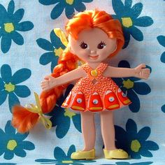 Flatsy dolls from the 1960s &1970s... I had a one of these.