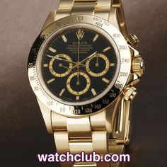 "Rolex Cosmograph Daytona ""Zenith"" Full Set - Yellow Gold REF: 16528 