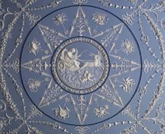 Wedgewood Ceilings and other finds