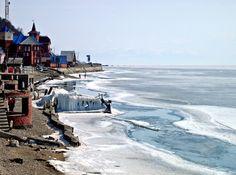 Lake Baikal, Listvyanka, Russia. Onroute Moscow-Irkutsk on the Trans-Siberia Railroad...