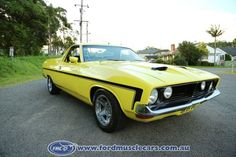 Ford xb ts Aussie Muscle Cars, Ford Falcon, Vintage Trucks, Ford Gt, Ford Trucks, Falcons, Vehicles, Motorcycles, Vans