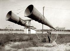 Звуковой локатор. 1921 год, США