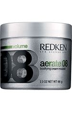 Aerate by Redken is what I use to scrunch/ diffuse dry my curly hair, its a cream mousse so the perfect product for this drying method