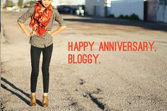 Kristine- what I learned from my first year of blogging