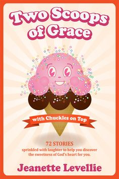 Two Scoops of Grace with Chuckles on Top---The transparent story-telling of Jeanette Levellie's hurt-ridden yet humorous life in the real lane offers hope amidst the chaos. She openly shares her struggles to love and forgive spiteful people. She encourages readers to believe in themselves and the God who is bigger than any mess in their lives. Readers will find their hearts opening to God's heart of grace and forgiveness.