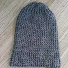 Artesanatos da Dessa   Touca de tricô masculina Touca De Croche Masculino bdf65c80c2b