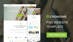 CSS Author provides free agency web design templates in PSD format. Some really cutting edge design here.