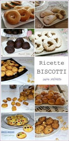 Recipes biscuits - The recipes of- Ricette biscotti – Le ricette di Recipes b. Recipes biscuits - The recipes of- Recipes biscuits - Recipes biscuits recipes. All the cookie recipes featured in the Biscotti Biscuits, Biscotti Cookies, Galletas Cookies, Yummy Cookies, Italian Cookie Recipes, Italian Cookies, Biscuit Recipe, Mini Desserts, Easter Recipes