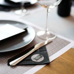 Pimp je servetten met deze rustieke servetstickers! #rustiek #pijlen #stickers #napkins #beaublue