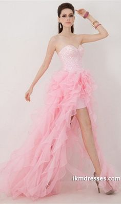 82ba0f4ec2 Buy 2014 Prom Dress Sweetheart Crystal Beaded Bodice Pick Up Ruffled  Organza Skirt Online