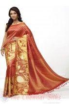 Vivaha Bridal pure kancheevaram silk saree vss 3001 http://www.shopcost.in/bridal+silk+saree