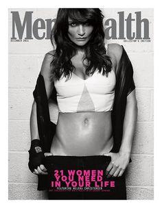 Men's Health UK December 2014 Heavenly eternally sultry Helena Christensen