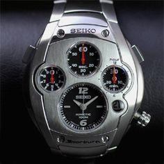 Reloj Seiko Sportura 9t82 0a50 Reloj De Segunda Mano