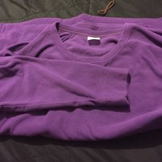 Purple long sleeve sweater Nice and cozy for the winter! Danskin Tops Sweatshirts & Hoodies