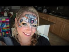 Star Wars Collab | BB-8 Makeup and Face Painting - YouTube