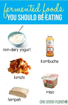 5 Fermented foods you should be eating http://onegr.pl/1yj64oy #superfood #vegan