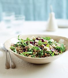 roasted beet buckwheat and goat cheese salad