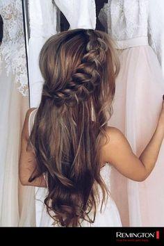 Si tienes una cita con tu pareja, no dudes en llevar este peinado que es fácil y elegante.
