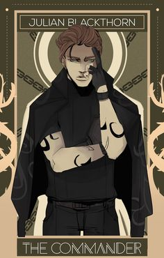 Julian Blackthorn by Cassandra Jean Cassandra Jean, Cassandra Clare Books, Emma Carstairs, Shadowhunters Tv Show, Shadowhunters The Mortal Instruments, The Dark Artifices, Clary E Jace, Julian Blackthorn, Lord Of Shadows