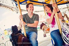 Holly + Clint + a carnival! | Nederland Engagement Session » JHicks Photography Blog