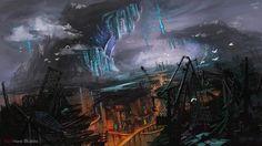 Future City by Athena-Erocith.deviantart.com on @DeviantArt