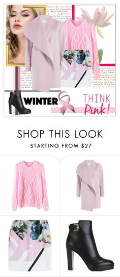 """Sweet 78"" by madina9 ❤ liked on Polyvore featuring Vince, Preen and Sergio Rossi"