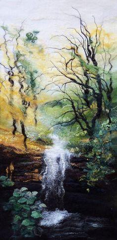 Wow! My new favorite felting artist: Susan Mulcock...