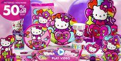 Hello Kitty Party Supplies - Hello Kitty Birthday Ideas - Party City
