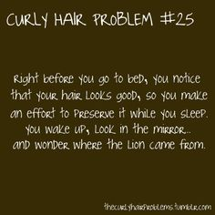 curly hair problems | curly, hair, problems - inspiring picture on Favim.com
