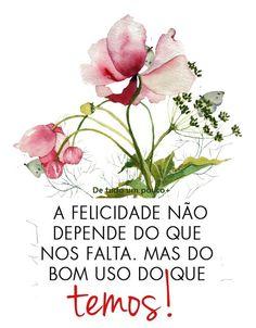 """""""Ser feliz não é ter uma vida perfeita. Mas usar as lágrimas para irrigar a tolerância. Usar as perdas para refinar a paciência. Usar as falhas para esculpir a serenidade. Usar a dor para lapidar o prazer. Usar os obstáculos para abrir as janelas da inteligência."""" Augusto Cury.!..."""