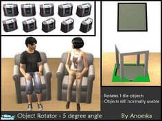 AnoeskaB's Object Rotator for large floorobjects - 5 degree angle